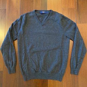 J Crew V Neck Sweater, Merino Wool